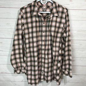J Jill | Button Front Shirt with pockets L B-B6